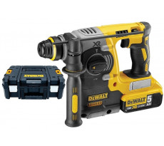 Perforateur DEWALT SDS-Plus 18V 5.0Ah + 2 Batteries + Chargeur - DCH273P2T