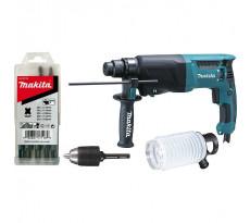 Perforateur MAKITA SDS-Plus 800 W - HR2600X9