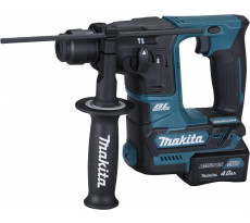 Perforateur SDS+ 10.8V Li-ion MAKITA - Ø16mm - 2 batteries + 1 chargeur rapide + malette transport  - HR166DSMJ