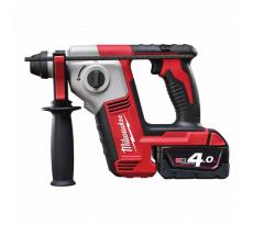 Perforateur MILWAUKEE M 18 BH 402 C - SDS Plus 18V + 2 Batteries 4.0Ah + 1 chargeur + Coffret - 4933443330