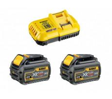 Pack 54V Flexvolt DEWALT - 6.0ah - 2 batteries - DCB118T2