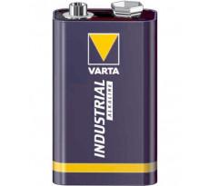 Piles alcalines industrielles 9V 6LR61 VARTA - boîte de 20 piles - 4022211111