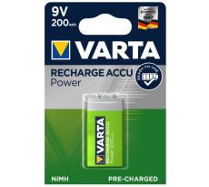 Batterie 9V/6F22 X1 200MAh VARTA - 56_722_101_401