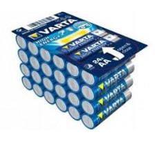 Pile alcaline 1.5V AA LR6 Longlife VARTA - boîte de 24 - 4906301124
