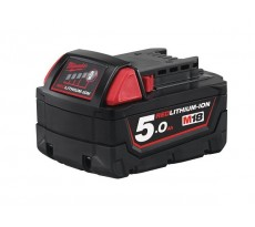 Batterie MILWAUKEE d'origine AKKU POWER - M18B5 - 18V - 5Ah L-ion - PO1079