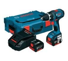 Perceuse visseuse BOSCH GSR 14,4 V-EC - 2 batteries 14.4V 4.0Ah Li-ion, chargeur, coffret - 06019E8001
