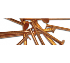 Pointe à tête large FRENEHARD cuivre - boîte de 5 kg - QAF23