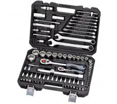 Coffret de clés à douilles 1/4' + 1/2' PROMAC 82 pièces - X-582B