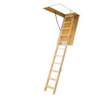 Escalier escamotable LWS FAKRO - échelle bois - 306070
