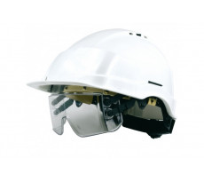Casque à lunette-masque intégrée sous la visière IRIS SINGER - CASIRIS