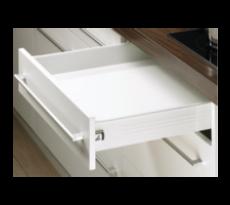 Paire côté de tiroir HETTICH Multitech Blanc