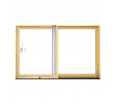 Système de porte coulissante Portal série HS SIEGENIA chassis bois - SIE0001