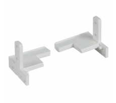 Accessoires BILCOQ cornière et embout seuil pour menuiserie PVC