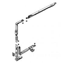 Kit oscillo-battant compas court 402 à 750 mm FAPIM pour Galiplus 2 - 1483