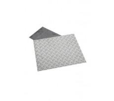 Tôle en aluminium TOULINOX plane ou à damier - TOUL001