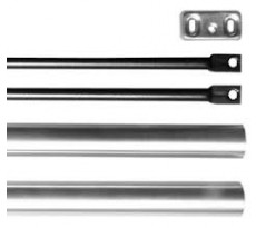 Jeu de tringles et capots pour porte 2400 m + Obturateur ISEO - 9410020