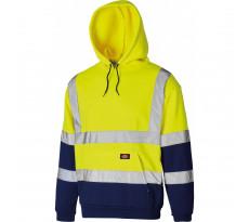Sweat capuche haute visibilité jaune DICKIES - SA22095YLN
