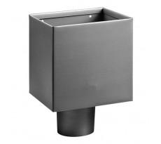 Boîte à eau carré Zinc  - 200x200x200 - 0200