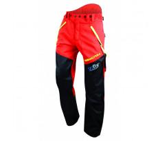 Pantalon FRANCITAL Cervin Pro - Classe 1 - Rouge - FI584A-3
