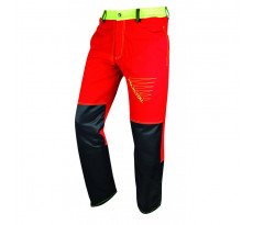 Pantalon de travail FRANCITAL Prior Move - Type A Classe 1 - Rouge - FI510-3