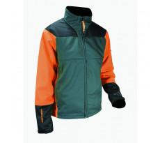 Veste anticoupure FRANCITAL Nebias Classe 1 - Orange/vert - FI127-9550