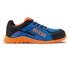 Chaussure de sécurité S24 SPARCO Practice - Noir bleu/orange - PRACTICE07517AZAF