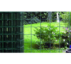 Grillage soudé Vert CAUMON maille 100x50 Fil 2.5mm - Rouleau 25m - HORTOPLAST