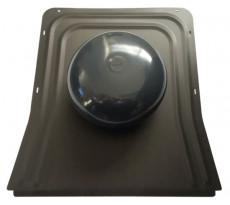 Chapeau de ventilation SVC sur platine zinc 0.7mm FERNAND - SVC
