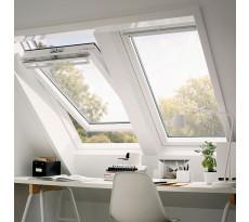 Fenêtre de toit VELUX à rotation - Tout confort Whitefinish - GGL 2057