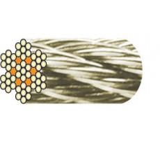 Câble acier inox 7x7 fils LEVAC - vendu au m - 1260