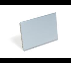 Plinthe et raccord angle 90° EMUCA - h.150mm - finition anodisé - 287010