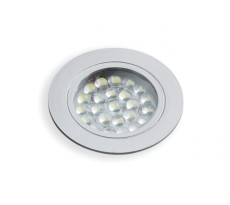 Spot LED Crux In EMUCA - 220V - 1,8W - blanc froid - avec transfo - 287010