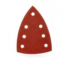 Feuilles abrasives MILWAUKEE pour ponceuses Delta - 100x147 mm - carte de 10 feuilles