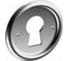 ENtrée de clé pour meuble MONIN - ronde Ø33 mm - 12912