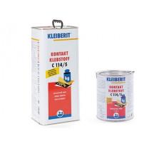 Colle de contact néoprène spatulable liquide KLEIBERIT 114.5 sans toluène