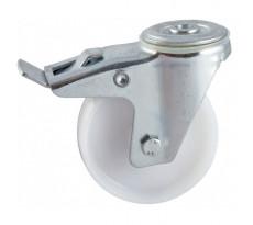 Roulettes à platine AVL - Roue polyamide - alésage lisse - 5908