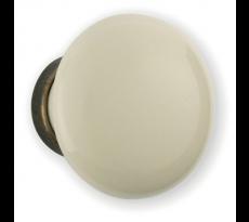 Bouton de meuble BRIONNE - porcelaine - 000.01