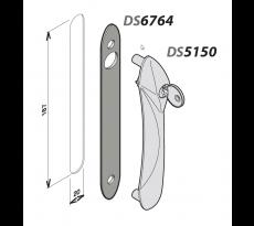 Platine pour poignée Senzo et Solo LA CROISÉE DS - 6764