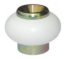 Butoir de porte standard souple laitonné rond Ø30 x 25 mm AVL - BB416