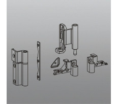Kit paumelles pour oscillo-battant SAVIO - 3000