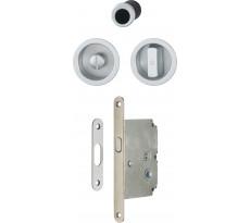 Set pour portes coulissantes et cuvettes HOPPE Aluminium - Ligne 4920