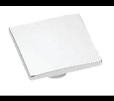 Bouton de meuble Wave ESTAMP carré 50x50 mm - 8102