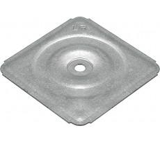 Plaquette de répartition à cuvette ETANCO - acier galva -boîte de 100 - 294