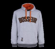 Sweat-shirt BOSSEUR Tokko - Gris Chiné -11256