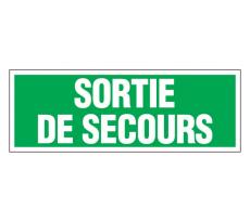 Plaque de signalisation NOVAP Entrée interdite / Défense d'entrer / Propriété / Sortie de secours
