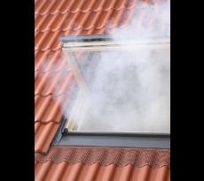Exutoire de désenfumage VELUX - Kit d'ouverture pneumatique sans thermodéclencheur - S3076P