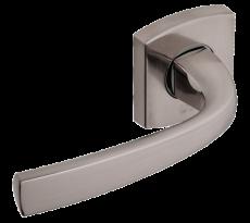 Ensemble de porte sur rosaces Muze BEZAULT pour porte standard 40 mm - 865/866