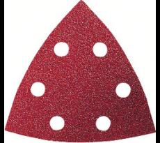 Abrasif triangle BOSCH - 93 x 93 mm - 50 pièces - 26086078