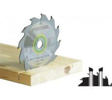 Lame de scie circulaire FESTOOL - bois, panneau de construction, plastique tendre -