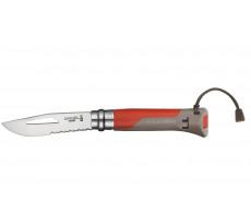 Couteau OPINEL Outdoor Lame inox - Avec bague de sécurité
